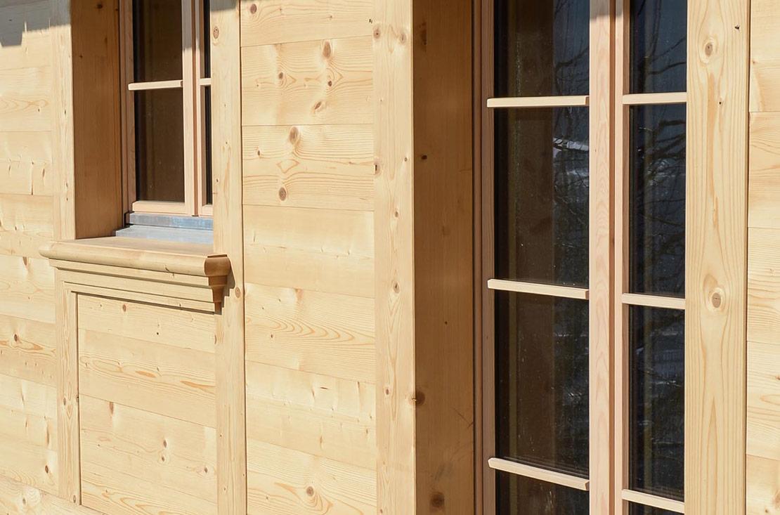 Foto von Holztüren Terrasse – Produkt Türen Sommer AG
